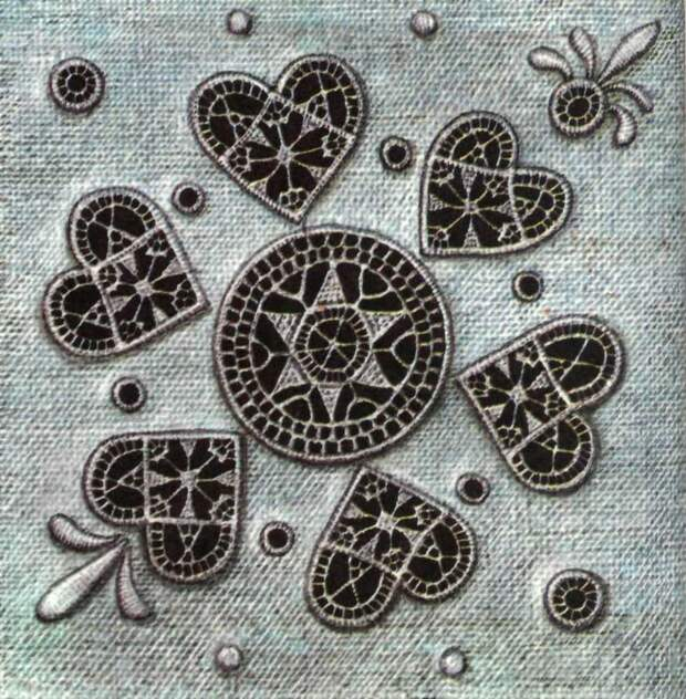 Виды вышивки с использованием разных видов швов