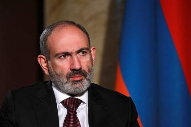 Пашинян попросил у России военную помощь