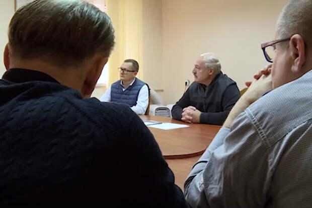 Субботу Лукашенко провёл в СИЗО