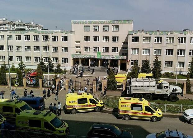 Число пострадавших при стрельбе в школе Казани выросло до 23