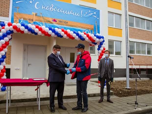 Судоверфь «Звезда» сдала четыре новых дома для своих сотрудников