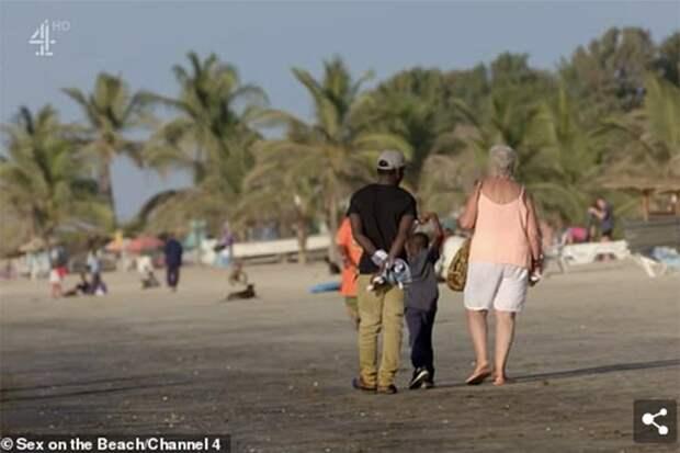68-летняя  бельгийка вышла замуж за 32-летнего африканца. Казалось бы, причем тут наташи?