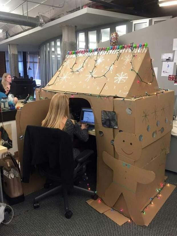 Новогодний настрой в офисе