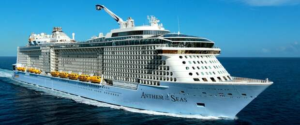 Крупнейшие круизные лайнеры Мирового Океана