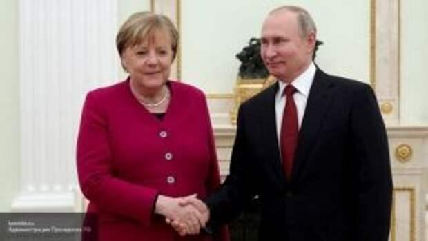 Путин и Меркель осудили попытки Украины загнать Минские соглашения в тупик