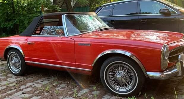 В РФ продают редкий Mercedes-Benz SL-Class 1966 года за 7,5 млн рублей