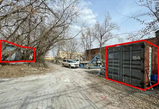 На Кольской демонтировали шесть незаконных построек