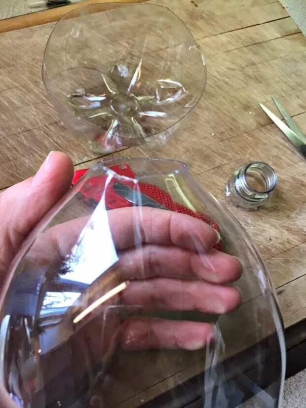 Вечная красивая роза в футляре: просто используйте обычную пластиковую бутылку