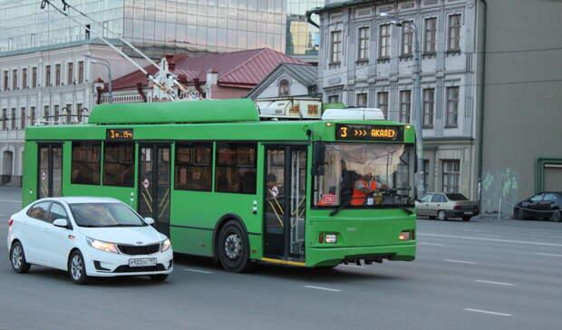 ВКазани два часа недвигались троллейбусы одного измаршрутов