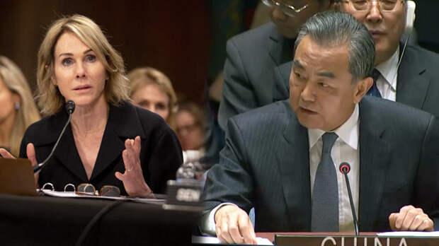 """Представитель Китая """"врезал"""" постпреду США на Совбезе ООН"""