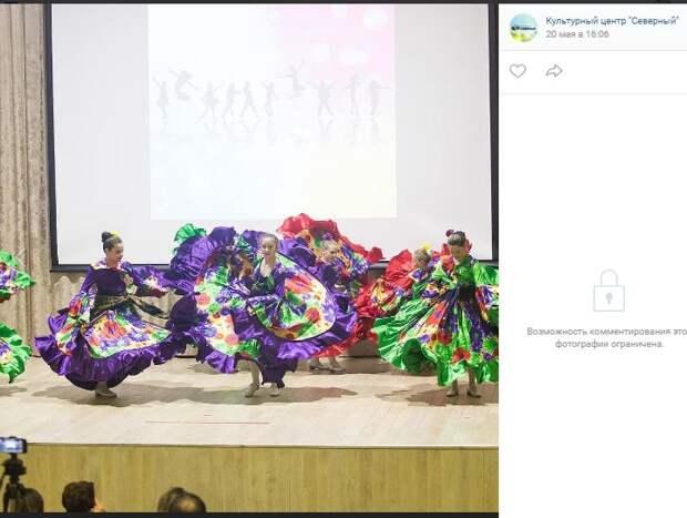Фотокадр: ансамбль «Каблучок» дал яркий концерт в Северном