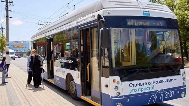 Новый троллейбусный маршрут запустили в Симферополе