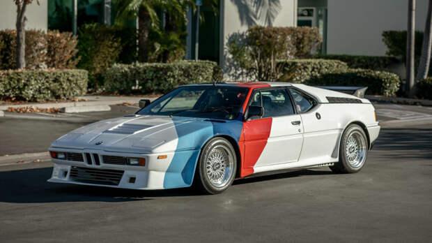 BMW M1 Пола Уокера продается за 500 тысяч долларов, машина появилась на одном из аукционов