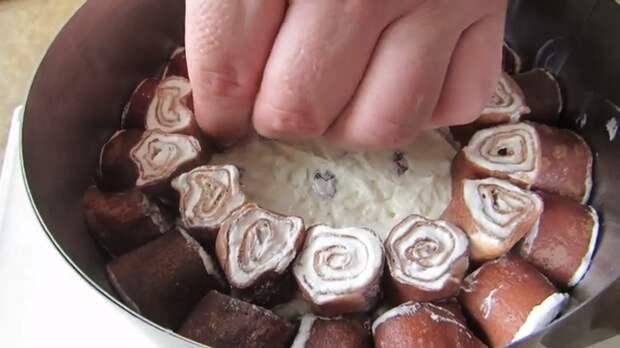 """Лучший рецепт для Масленицы! Блинный торт - """"пломбир в шоколаде"""" Блины, Масленица, Торт, Вкусно, Готовка, Рецепт, Как приготовить, Другая кухня, Видео, Длиннопост"""