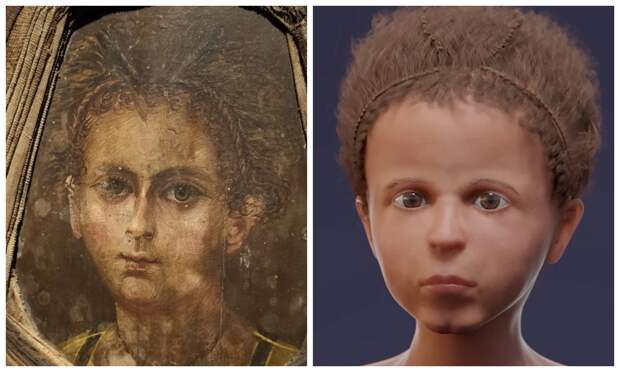 Лицо изпрошлого: ученые воссоздали внешность 3-летнего мальчика изегипетской мумии