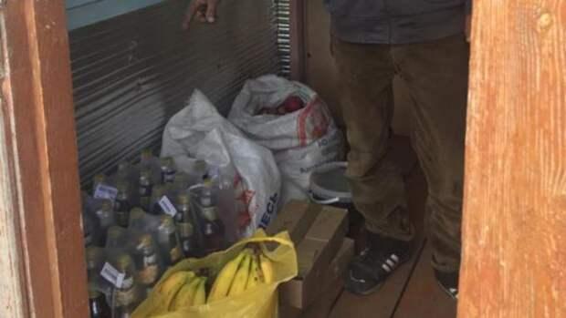 На Алтае мужчина обворовал продуктовый магазин и попался полиции