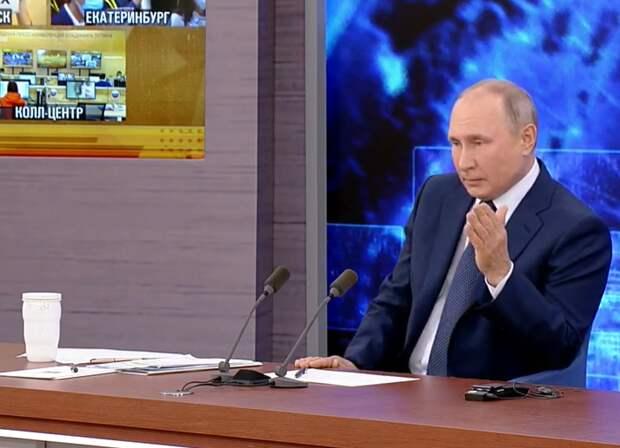 Путин прокомментировал расследования о Навальном и Шамалове