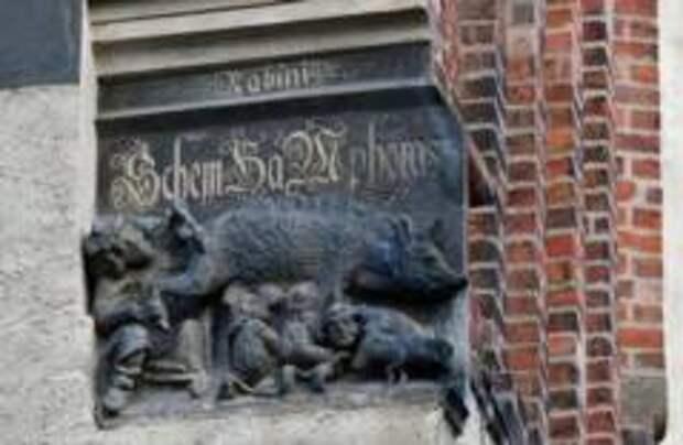 Немцы отказались убирать с церкви антисемитский барельеф