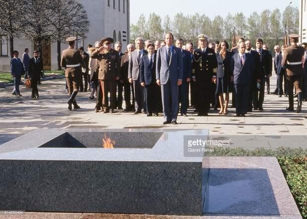 Испанский король в СССР.