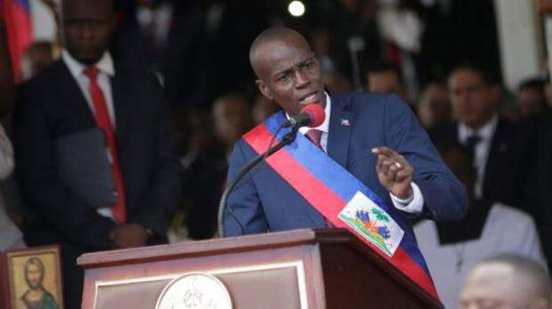 Президент Гаити Жовенель Моиз застрелен