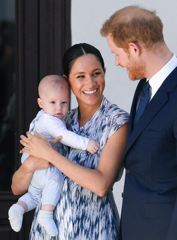 Уже традиция: Меган Маркл и принц Гарри оригинально отметили день рождения сына Арчи