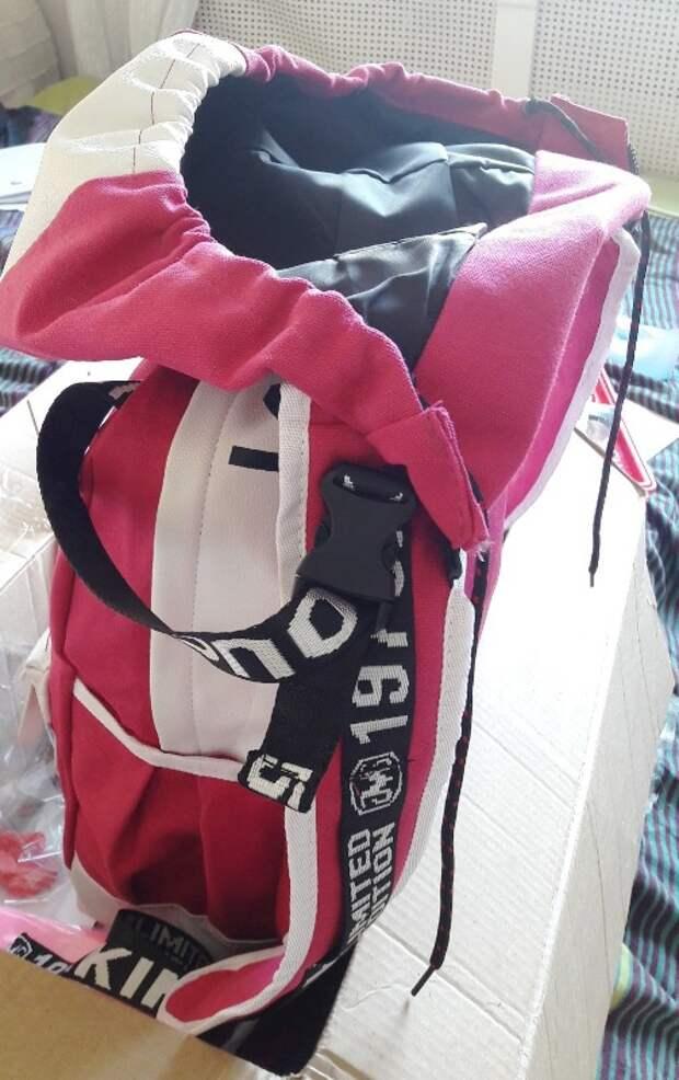 капюшон на рюкзаке
