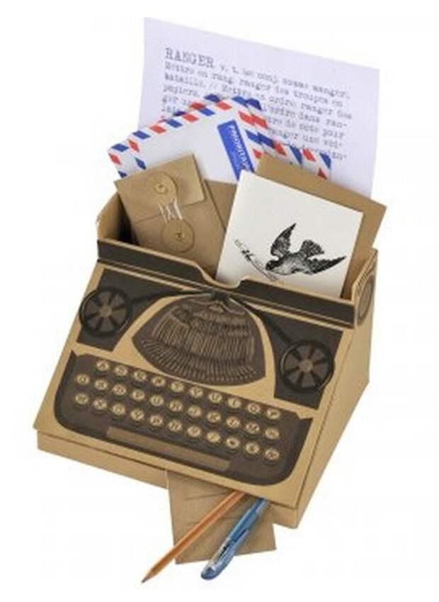 печатная машинка коробочка
