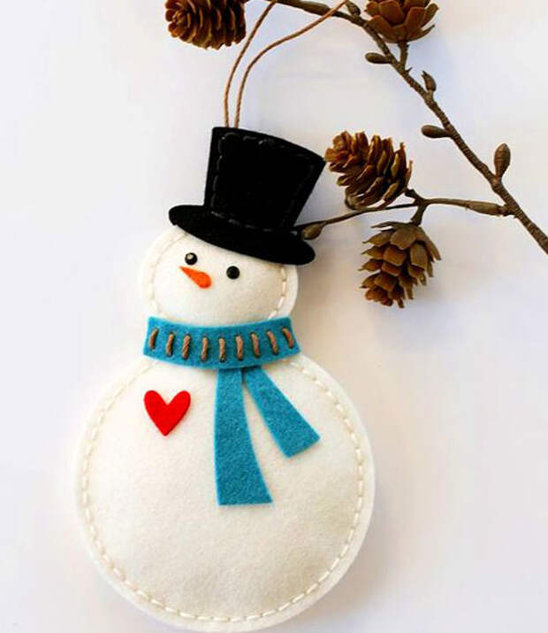 снеговичок на елку