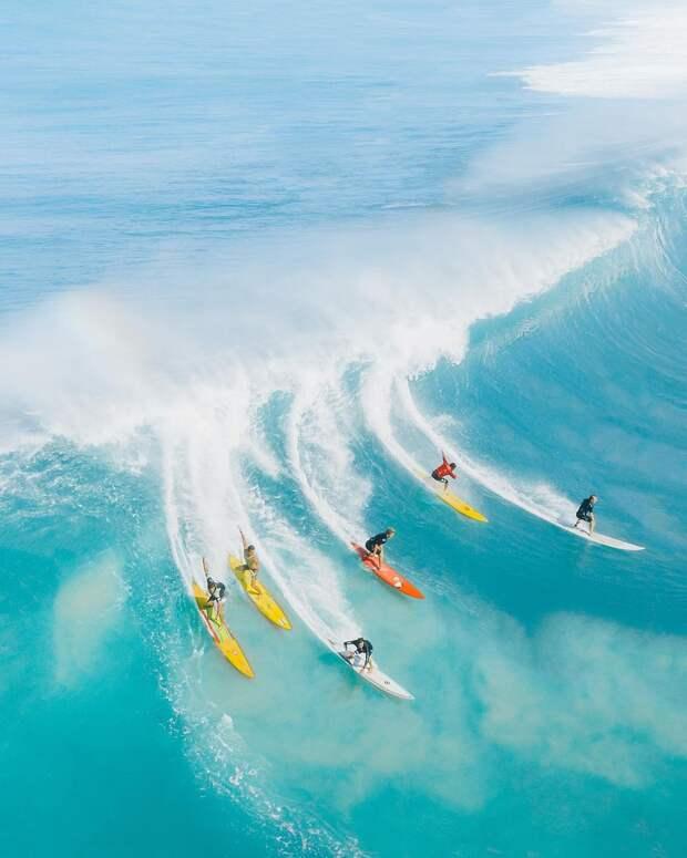 Райский уголок: Гавайи на аэрофотоснимках