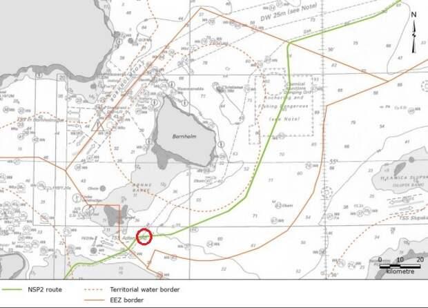 «Фортуна» едва укладывается вграфик достройки «Северного потока— 2» вДании
