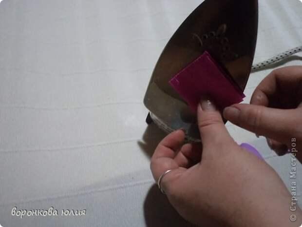 здравствуйте дорогие мастерицы.вот решила с вами поделиться тем , как я делаю цветок орхидеи. фото 9