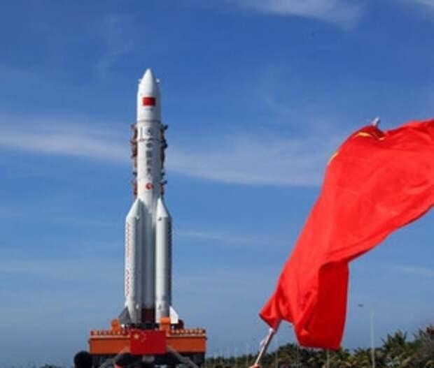 Китай запустил свою первую межпланетную станцию к Марсу