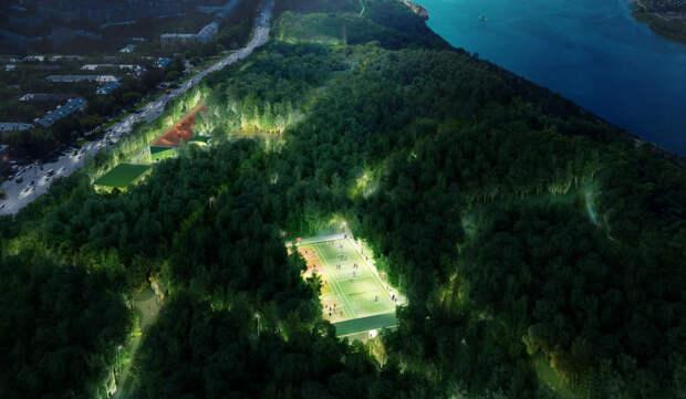 18 км прогулочных дорожек и 1632 новых деревьев: изучаем благоустройство нижегородской «Швейцарии» в цифрах