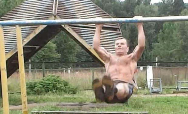70-летний молодец: зарядка Петра Иосифовича