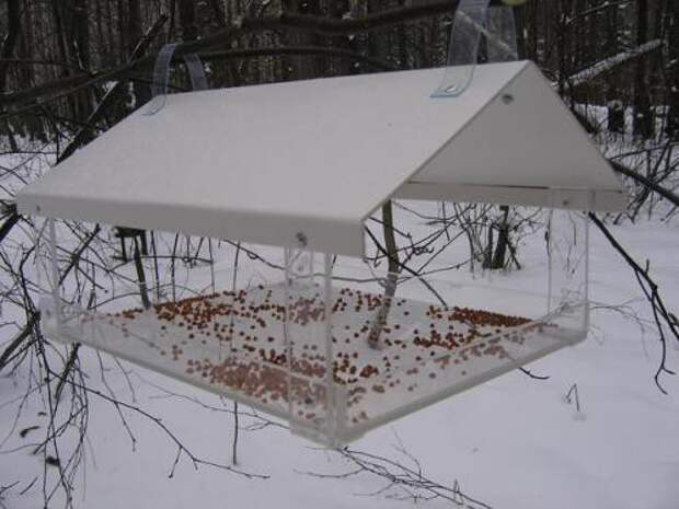САМОДЕЛКИ. Зимние кормушки для птиц