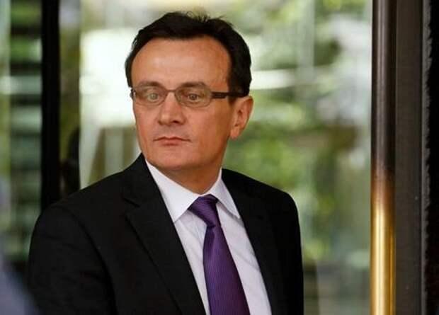 Глава фармкомпании AstraZeneca Паскаль Сорио в Лондоне, Великобитания, 14 мая 2014 года. REUTERS/Luke MacGregor