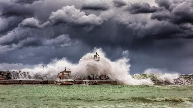 Начало выходных в Крыму омрачится штормовым ветром