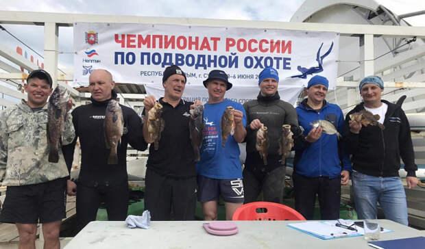 Приморец стал стал чемпионом России поподводной охоте