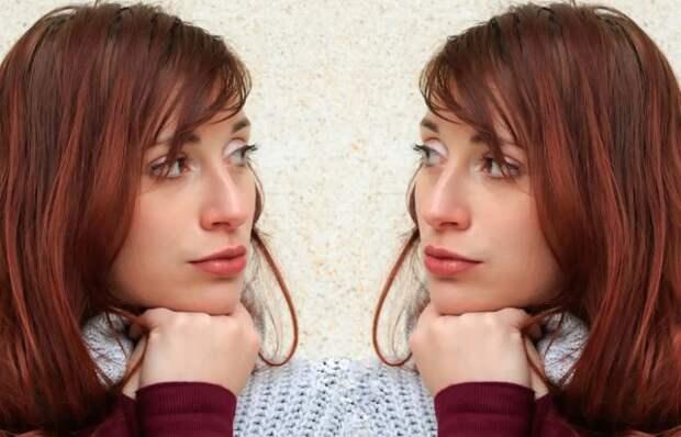 фото девушки, смотрящей в сторону