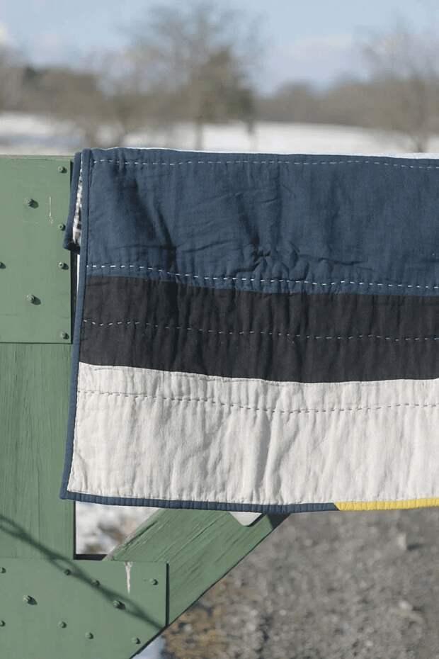 Лоскутное одеяло с ручной стёжкой: мастер-класс