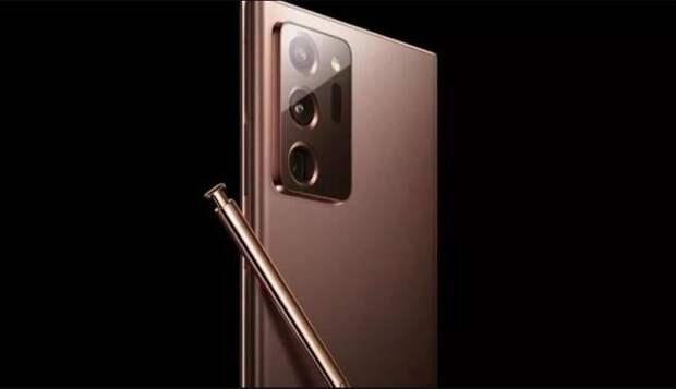 Samsung показал новую серию смартфонов Galaxy Note20