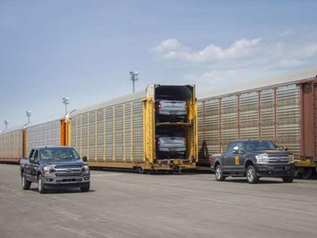 Первое испытание электропикапа Ford: потащить 454-тонный прицеп