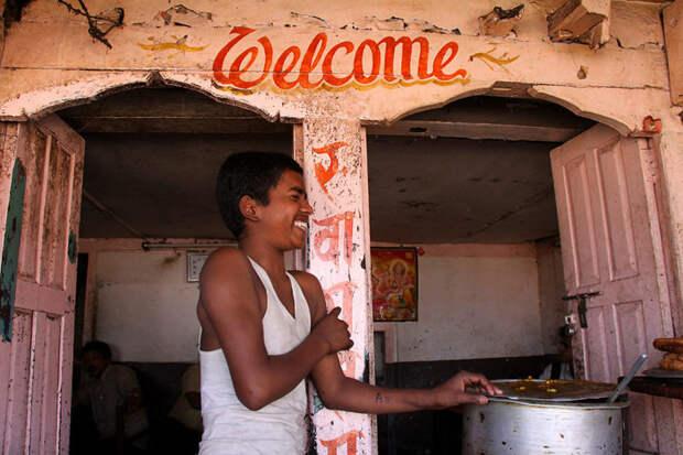 Ресторанчик в Покхаре, Непал красота, путешествия, фото