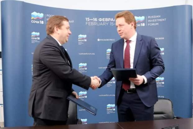 Губернатор Севастополя подписал инвестиционное соглашение с фондом «Росконгресс»