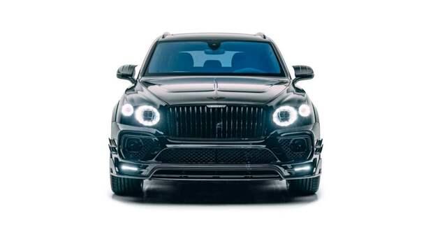 Ателье Mansory представило очень быструю версию Bentley Bentayga