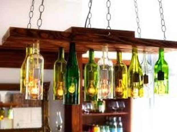 Что можно делать из бутылок
