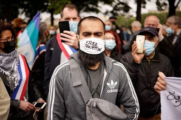 В Париже и Берлине полиция разогнала митинги в поддержку палестинцев