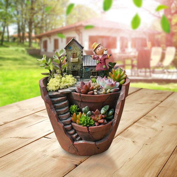 Топ 5 горшков для огорода на подоконнике