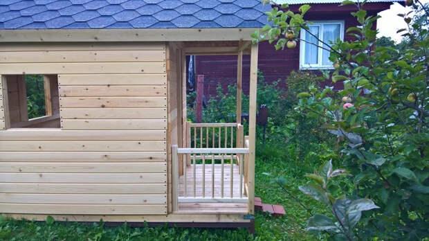 Как я строил домик Своими руками, Дача, Детский домик, Плотничество, Длиннопост, Рукоделие с процессом