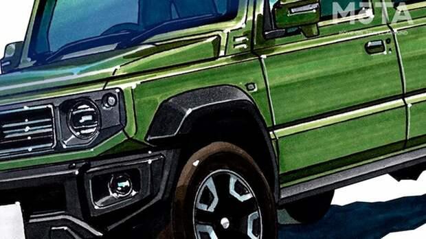 Пятидверный Suzuki Jimny: стала известна дата премьеры. Новые подробности